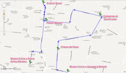itinerario Casale