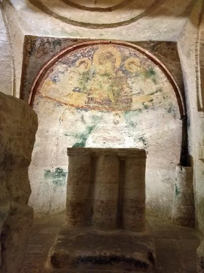 Altare Cripta Bizantina San Salvatore