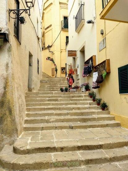 Uno scorcio del centro storico di Otranto